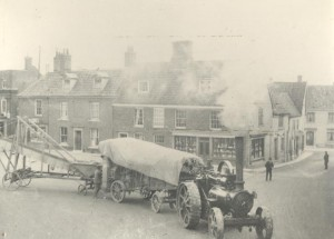 Aylsham Market Place. The Barnwell Print shop before it became a printing works.
