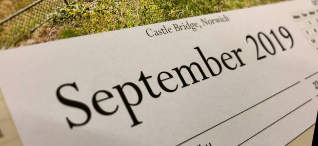 Printed Products | September 2019 featuring Castle Bridge in Norwich, Norfolk