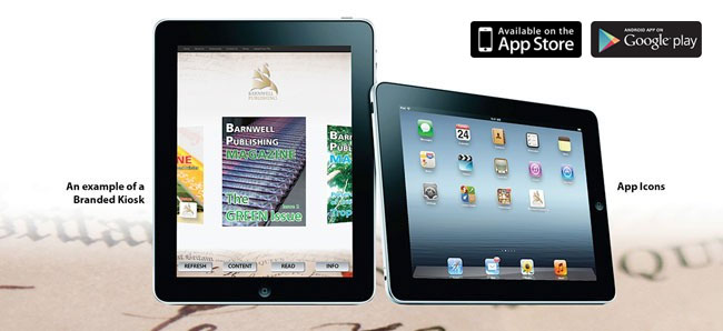 Digital publishing on the iPad and Android Tablets
