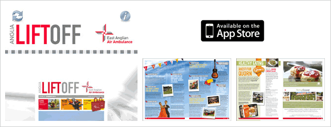 Pad Publishing Case Study > Anglia Lift Off  by East Anglian Air Ambulance
