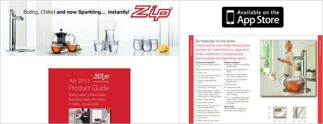Zip Heaters UK Ltd > Product Guide App