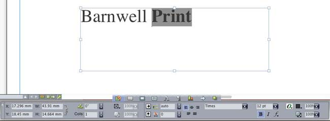 Using fonts in print ready files