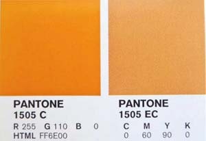 Printing pantones in print ready files