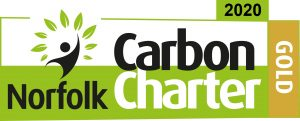 Barnwell Print awarded Norfolk Carbon Charter Gold Level 2020